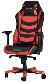 DXRacer Iron IS166 Gaming Stuhl rot