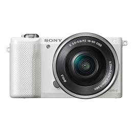 Sony Alpha 5000 Kompaktkamera Full HD