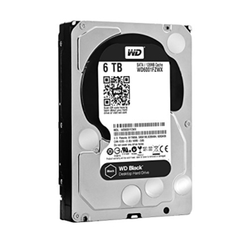 Western Digital Black 6 TB HDD Festplatte