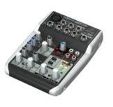 Behringer Xenyx Q502 USB Mischpult für Lets Player